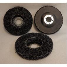 "Strip-And-Clean Disc 4-1/2""x7/8"" (115mm), BLACK"