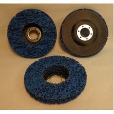 "Strip-And-Clean Disc 4-1/2""x7/8"" (115mm), BLUE"