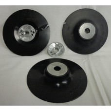 "Backing Pad for Fiber Discs 5"" 125mm xM14 black"