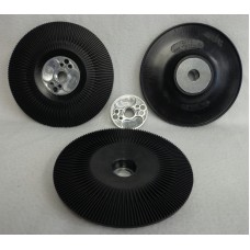 "Backing Pad Cool Flow for Fiber Discs 5"" 125mm xM14 black"