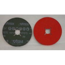 "Fiber Disc VSM XF870 5""x7/8"" 125х22mm grain 36"