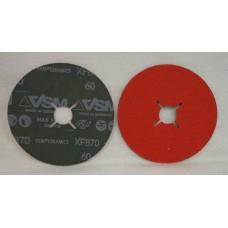 "Fiber Disc VSM XF870 5""x7/8"" 125х22mm grain 60"