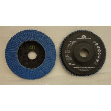 "Flap Disc EISENBLATTER Trimfix Zircoflex 5"" x 7/8"" 125 x 22 mm grit 40"