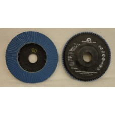"Flap Disc EISENBLATTER Trimfix Zircoflex 5"" x 7/8"" 125 x 22 mm grit 60"