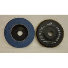 "Flap Disc EISENBLATTER Trimfix Zircoflex 5"" x 7/8"" 125 x 22 mm grit 120"