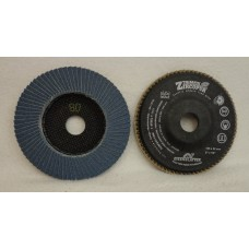 "Flap Disc EISENBLATTER Trimfix 5"" x 7/8"" 125 x 22 mm grit 80"