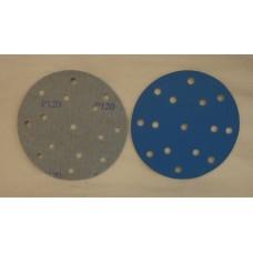 """Hook And Loop Velcro Disc 6"""" 150mm / 15 H grain 120"""