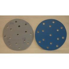 """Hook And Loop Velcro Disc 6"""" 150mm / 15 H grain 500"""