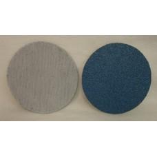 """Hook And Loop Velcro Zircon Disc ZiAl 5"""" 125mm / OH grit 40"""