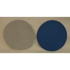 """Hook And Loop Velcro Zircon Disc ZiAl 5"""" 125mm / OH grit 60"""